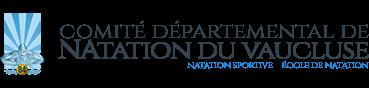 Logo comité départemental de natation du Vaucluse (84)